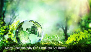 Many Reasons Why Eco-Products Are Better