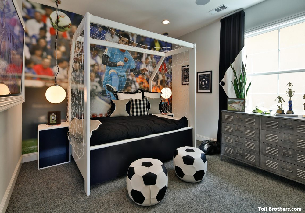 Creative Room Ideas for the Young Athlete